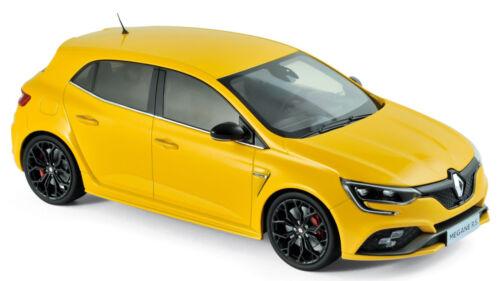 2017 Sirius Yellow gelb metallic 1:18 Norev Renault Megane R.S