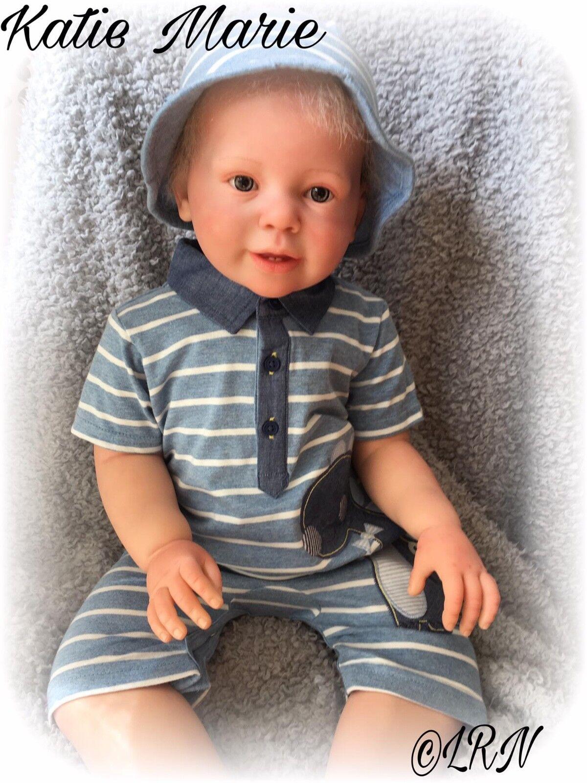 Custom made Reborn Doll da Katie Marie Bambino Kit. GENNAIO solo