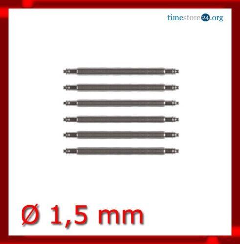 4x Federstifte Federstege 1,5 mm Lederarmband Uhrenarmband Uhr