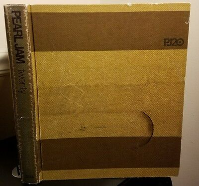 "Pearl Jam Hard Cover Book ""Twenty""  PJ20 ...No Dust Jacket"