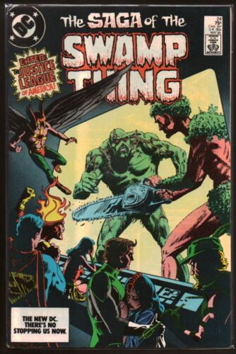 Saga of the Swamp Thing VF//NM 9.0 Back Issues DC Comics 2nd Series Alan Moore