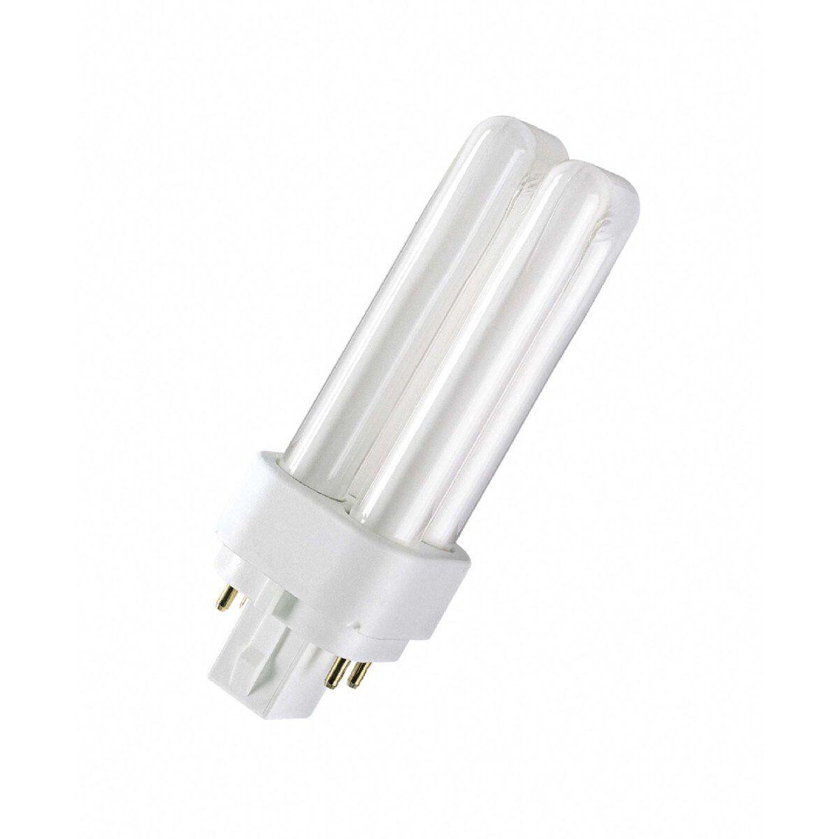 Osram Lampada Fluorescente Compatta Dulux D   e e e - G24q,840 Bianco Neutro - 26W - 33b199