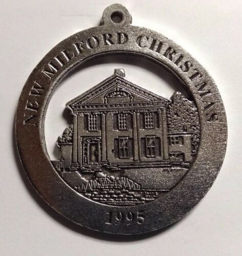 George Taylor House New Milford Historical Society Pewter Medallion Dr