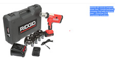 Ridgid Rp 210 B Compact Press Tool Hydraulic Crimping Tool With Propress Jaws