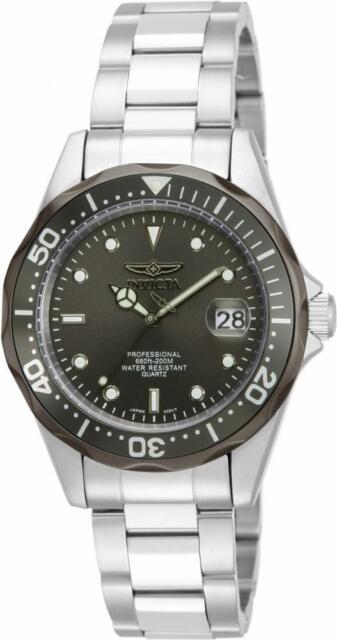 Invicta Pro Diver 12812 Men's Round Analog Date Stainless Steel Watch