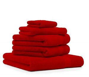Betz-lot-de-5-serviettes-de-bain-de-toilette-d-039-invite-gant-Premium-100-coton