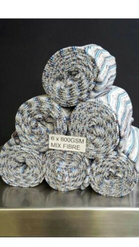 Mixed Fibre Polishing Cloth 6 x Rolls