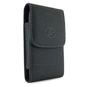 Leather-Smartphone-Vertical-Holster-Pouch-Case-Belt-Clip-Fits-Otterbox ...