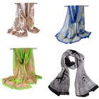 Hot sell Fashion Stylish Women Long Soft Silk Chiffon Scarf Wrap Shawl Scarves