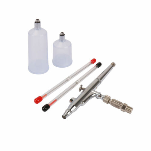 0.2MM//0.3MM//0.5MM Needles Nozzles Gravity Feed Dual Action Airbrush Kit Set Tool