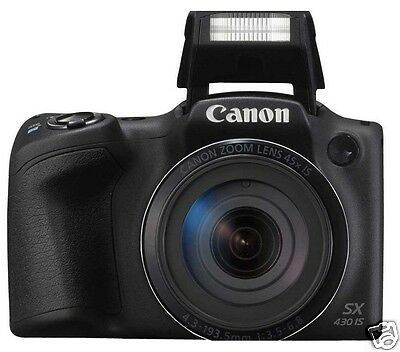 Canon PowerShot SX430 IS 20. Megapixels Digital Camera -- (Black)