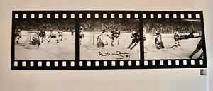 AUTO-GREAT-NORTH-ROAD-BOBBY-ORR-BOSTON-BRUINS-28X12-THE-GOAL-FILMSTRIP