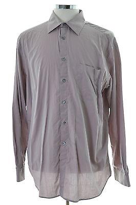 neue Stile angemessener Preis klassischer Stil Hugo Boss Herren Hemd Größe 43 17 große lila Baumwolle   eBay