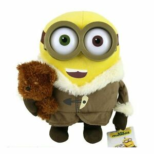 Image Is Loading MINIONS Minion BOB With Teddy Bear Soft Toy