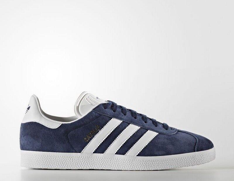 zapatillas BB5478 Zapatillas Adidas Gazelle Azul y blancoo Hombre