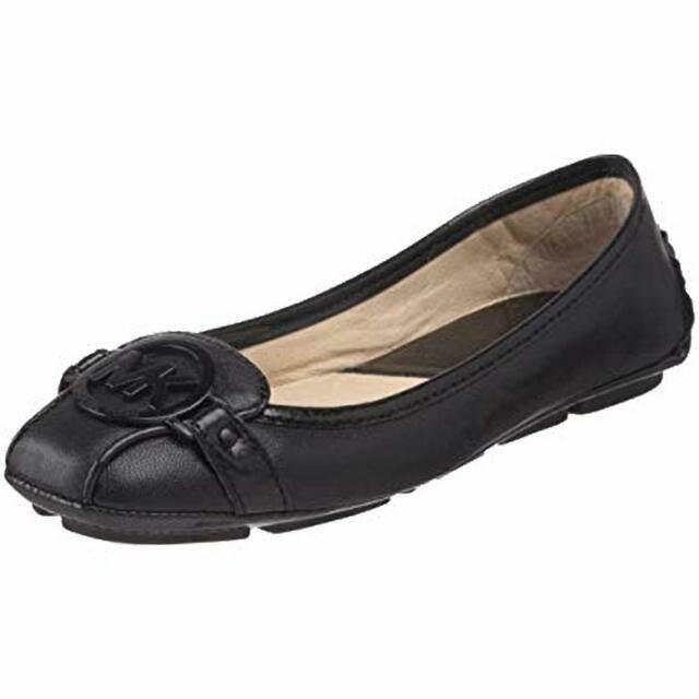 MICHAEL Michael Kors Fulton Moccasin Shoes Black Wide