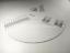 Elvon-Stroboskop-Scheibe-Acryl-Plattenteller-Matte-Ausrichtung-Winkelmesser-Strobe-Disc-c2 Indexbild 4