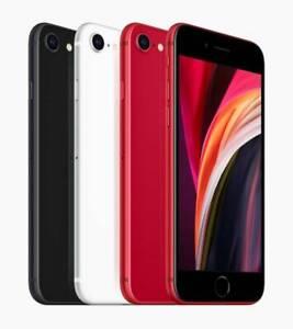 Apple iPhone SE 2nd Gen 2020 64GB Black/White/Red - Fully Unlocked - Good