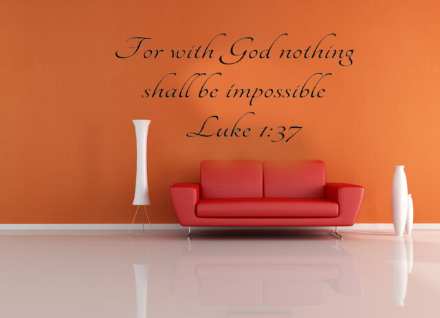 bible scripture wall decals word vinyl removable sticker verse quote