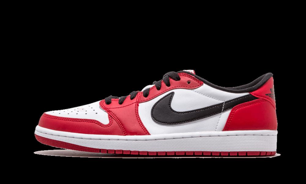 Air Jordan 1 Retro Low OG Chicago size 13.5. Red White Black. 705329-600.