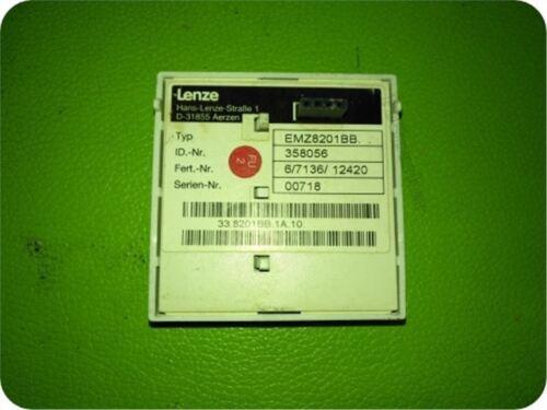 1Pc Used Lenze EMZ8201BB it