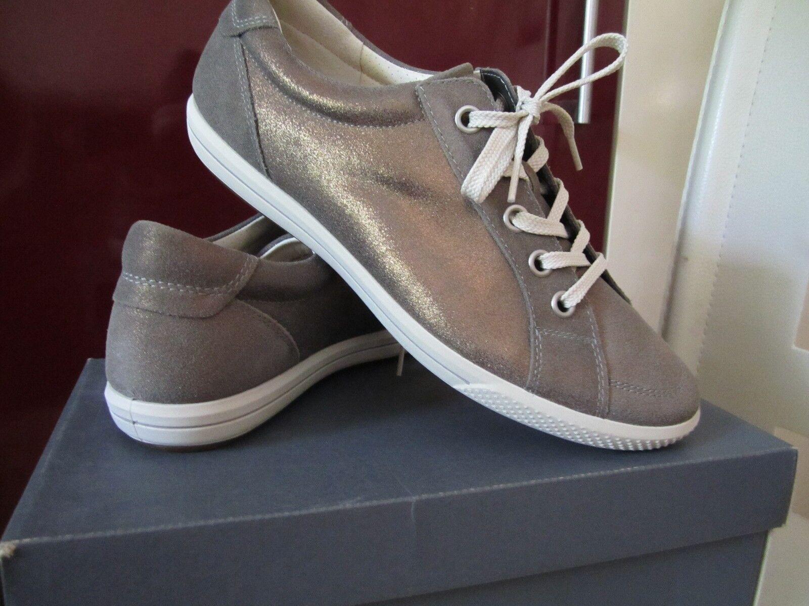 Ecco Schuhe warm Grau Damenschuhe  Schnür-Halbschuhe 20014305375 NEU Gr.42