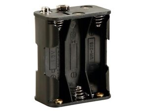 Velleman-BH363B-BATTERY-HOLDER-FOR-6-x-AA-CELL-WITH-SNAP-TERMINALS