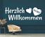X4460-Wandtattoo-Spruch-Herzlich-Willkommen-Sticker-Wandaufkleber-Aufkleber Indexbild 2