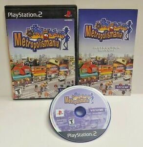 Metrpolismania PS2 Playstation 2 Game 1 Owner COMPLETE Working Tested Clean Disc