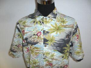 vintage usa Solitude Hawaii Hemd hawaiihemd crazy pattern shirt surf XL