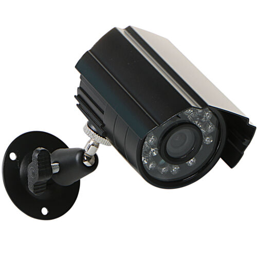 "1//4/"" CMOS 24IR-Led 720p AHD Night Vision Waterproof Outdoor Security CCTV Camera"