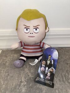 New-The-Addams-Family-Pugsley-Movie-Plush-Doll-Toy-Factory-Monster-Boy-Big-Head