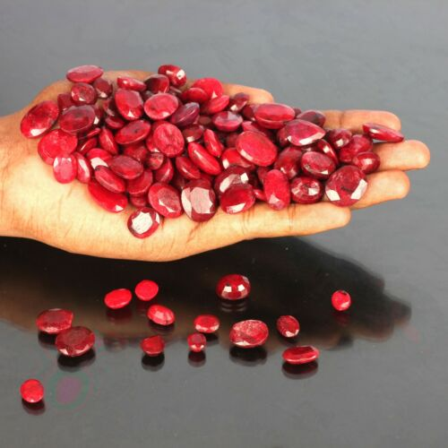 50.00 Cts Natural Precious African Blood Red Ruby Loose Gemstone Wholesale Lot