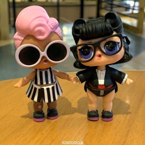 Lot 2 Pcs Lol Surprise L.O.L Real Dolls Miss Punk /& SHORT STOP