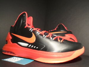 brand new a582c f3afc Image is loading Nike-Zoom-KEVIN-DURANT-KD-V-5-BLACK-