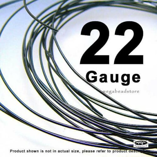 22 Gauge Oxidized 925 Sterling Silver Wire Half Hard HH 1 oz 30 ft