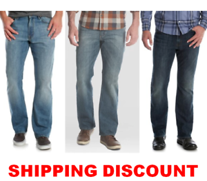Men-039-s-Wrangler-Relaxed-Fit-BOOTCUT-Jean-with-Stretch