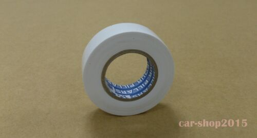 High Quality PVC Electricians Electrical Insulation Tape White 0.2mmx19mmx10M