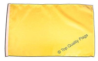 "Unicolor yellow Banner 30x45cm – 18""x12"" Small Flag"