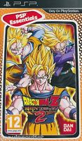 Psp Dragon Ball Z Shin Budokai 2 For Psp Essentials Sealed