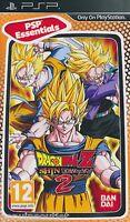 Psp Dragon Ball Z Shin Budokai 2 For Psp Essentials Sealed