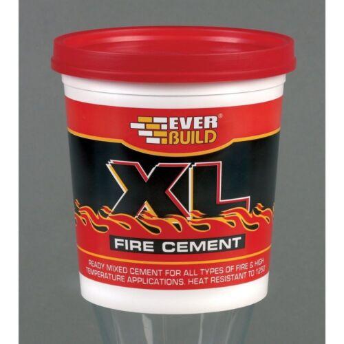 1 kg poêle et cheminée CIMENTS fours Mortier Everbuild XL Fire ciment-Fire briques