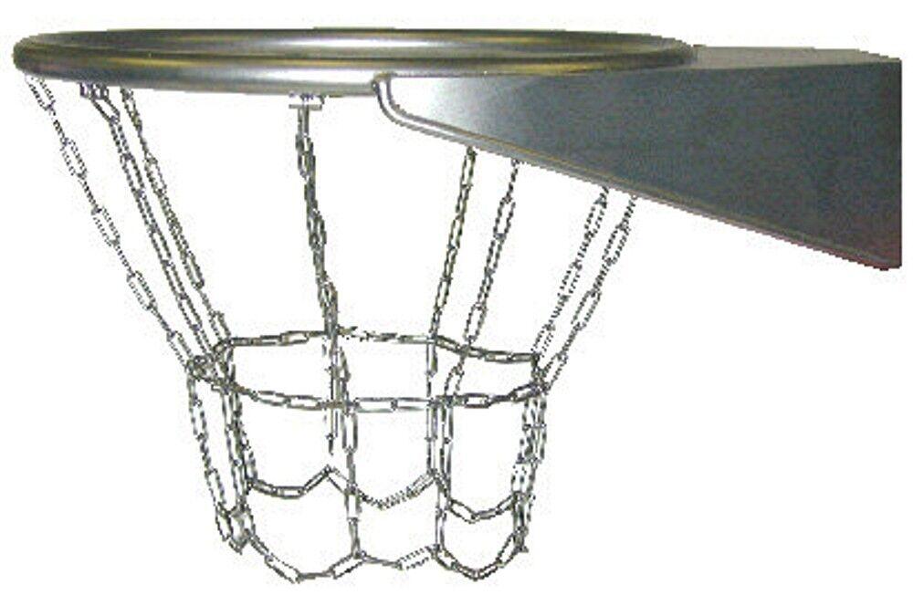 Baloncesto  Canasta de Basquetball con rojo Acero Inox. Aisi 304 Kettennetz  en stock