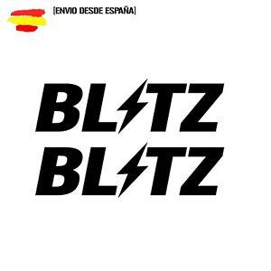 2-Pegatinas-BLITZ-vinilo-Aufkleber-sticker-elige-tu-tamano-y-color