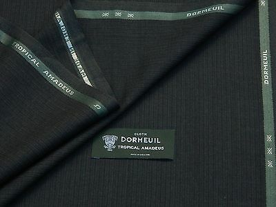 3.4 m DORMEUIL /'AMADEUS 365/' LUXURY WOOL SUITING FABRIC MADE IN ENGLAND