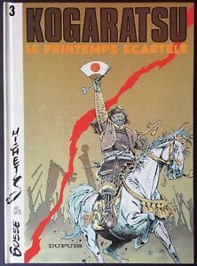 KOGARATSU-Tome-3-Le-Printemps-ecartele-reedition-1989-Comme-neuf