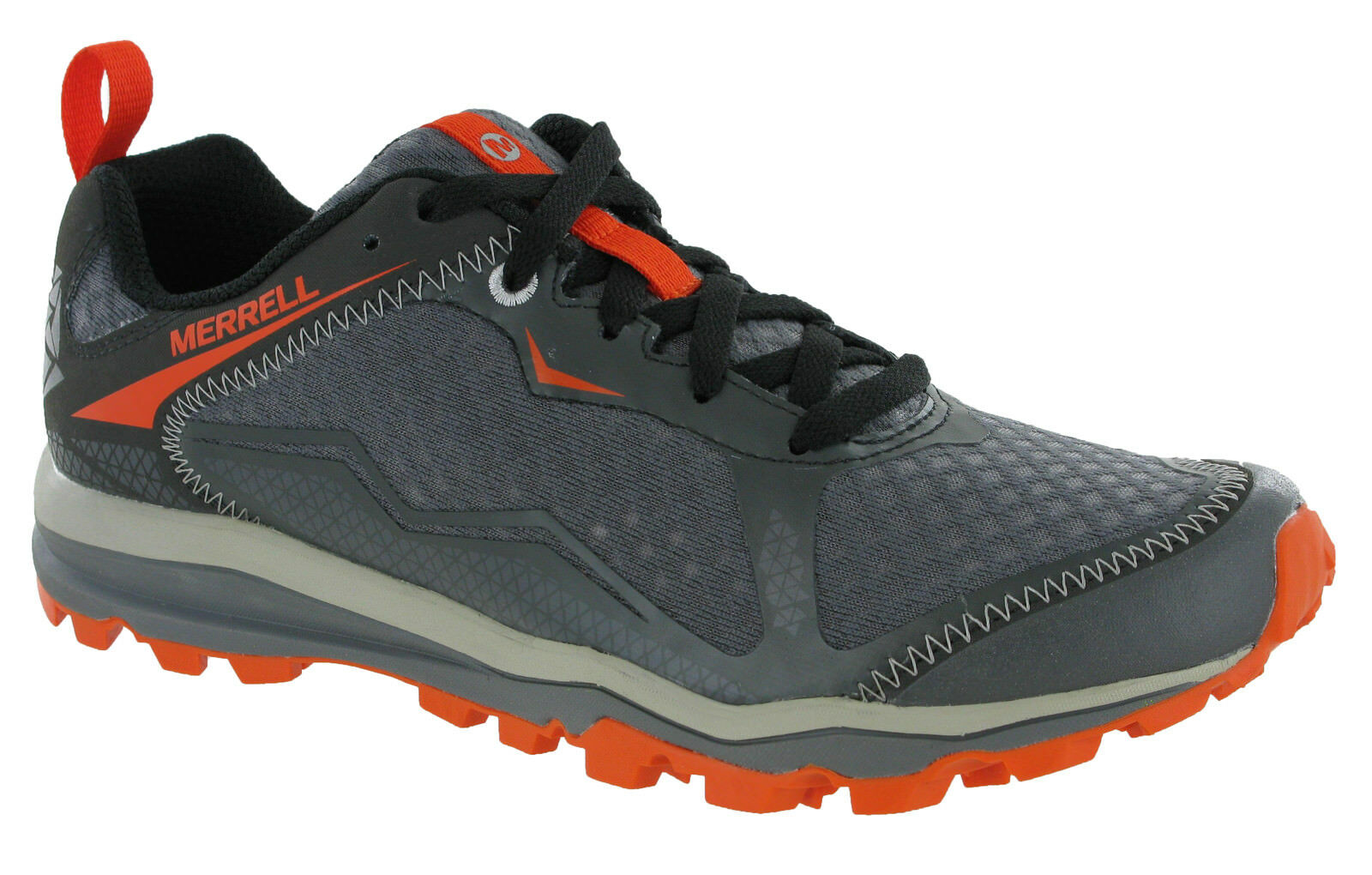 Merrell All All Merrell Out Crush Light Wandern Grau Herren Turnschuhe J35545 cb9cfc