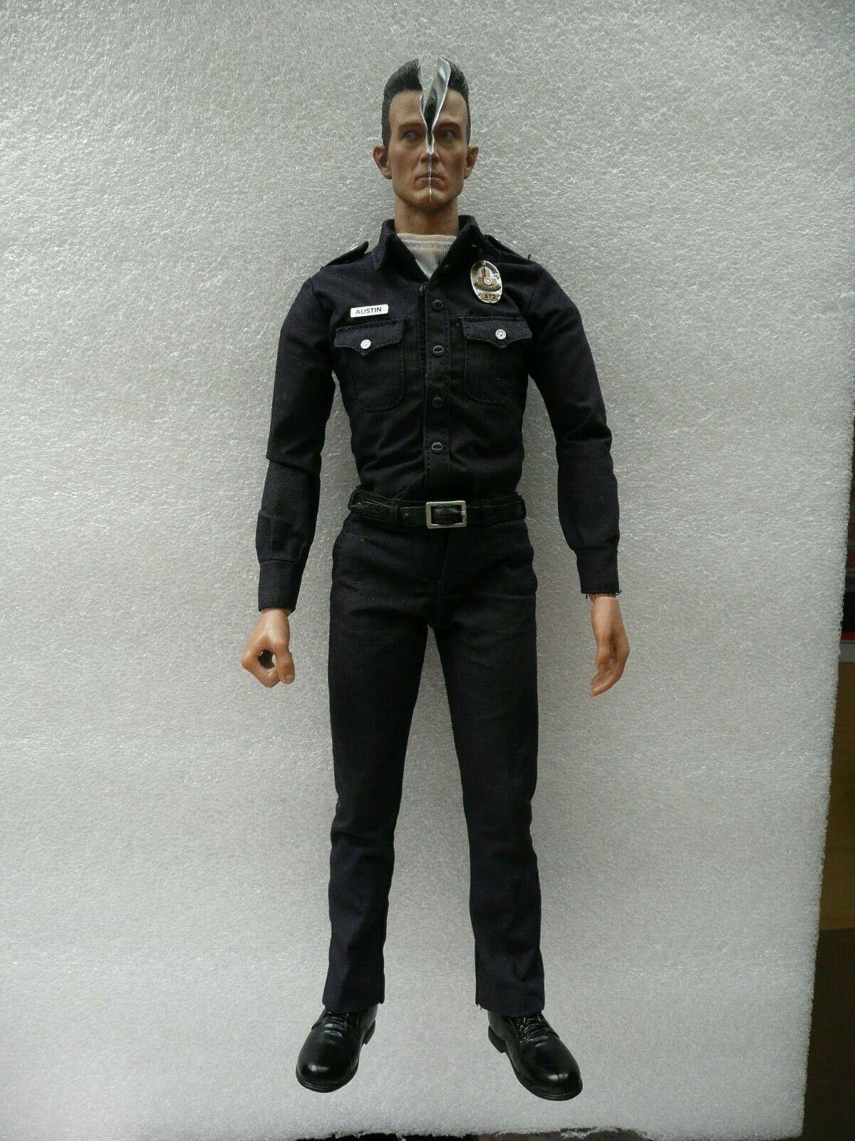 Authentic Loose Hot Toys 1/6 Terminator Robert Patrick T-1000 T2 Action Figure on eBay thumbnail