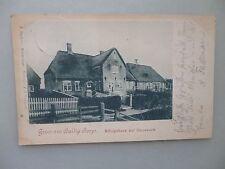 Ansichtskarte Hallig Hooge Königshaus auf Hanswerft 1903