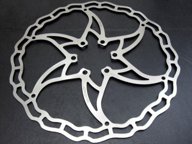 Quaxar SILVER Iris ultralight Mountain Bike disc brake rotor 160mm//180mm bolts